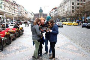 Treasure Hunt in Prague with friends