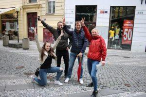 Teambuilding in Prague