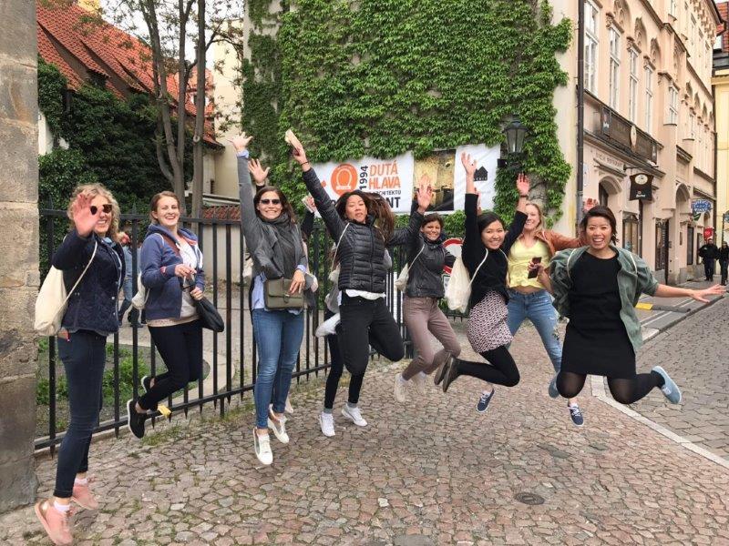 Hen weekend and team-building in Prague
